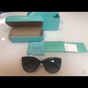 Tiffany &Co.  Black Cat Eye Sunglasses.
